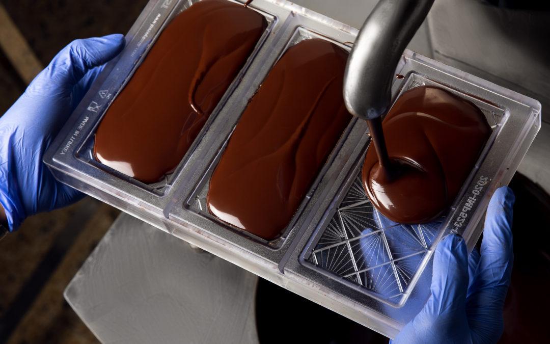 Immersion dans l'atelier de création des chocolats «Les Cabosses Ailées»