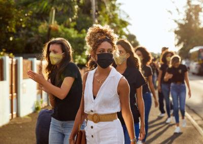 Miss Réunion en visite chez Les Cabosses Ailées